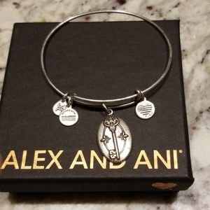 Key to Life Alex and Ani charm bangle
